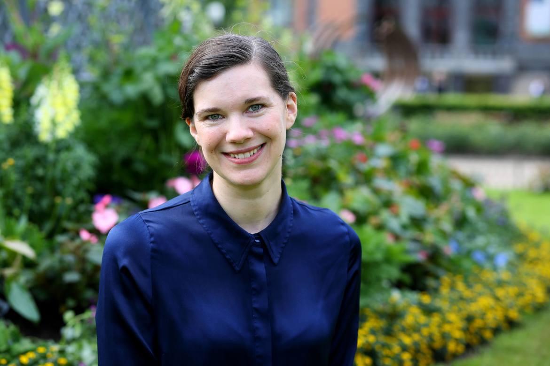 FIRMAEIGAR: Kristine Ullaland går «all in» for å bidra til eit reelt grønt skifte.