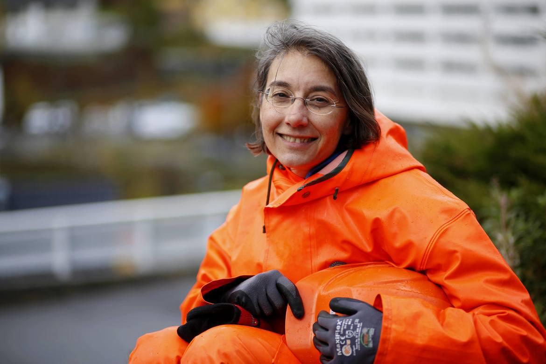 PRISVINNER: Simona Petroncini, eier, og daglig- og teknisk leder av Solbære AS er strålende fornøyd med å være årets flerkulturelle gründer