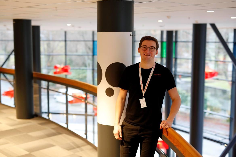 DEDIKERT: Lars Henrik Hafstad Karlsson leker ikke startup. Han er allerede gründer på sin hals.