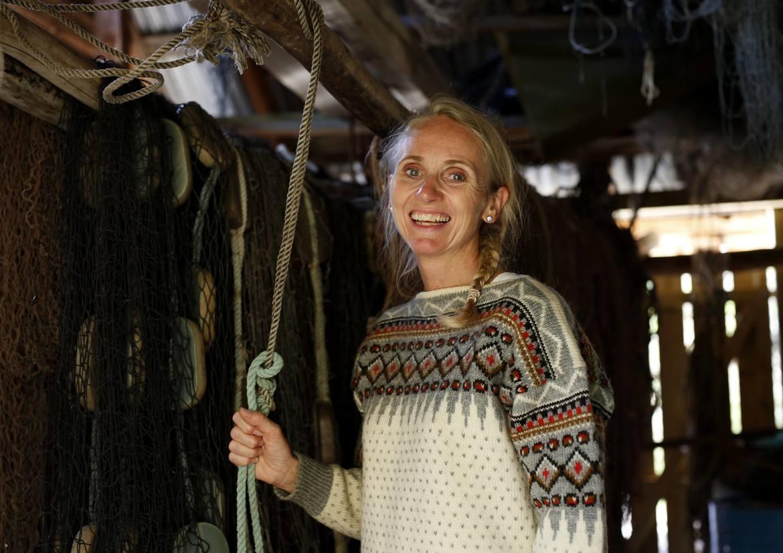 I NOTHUSET: Anne Lise Leiren Mastervik er fersk driftar av Bygdasjarm