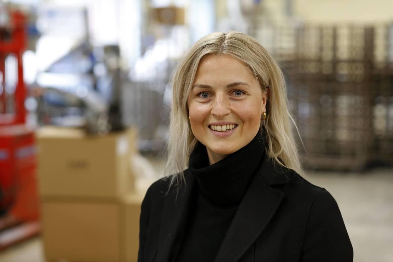 GRØNN FREMTID: Fotballguru Ingrid Spord har tatt et solid avspark for utvidelse av bedriften sin.