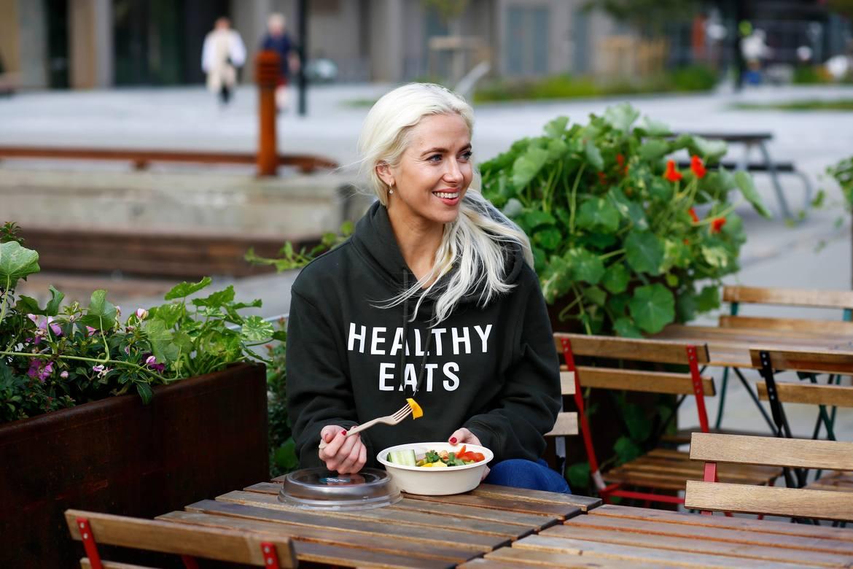 PIONER: Vilde Regine Tellnes er en av to gründere bak Healthy EATS AS.