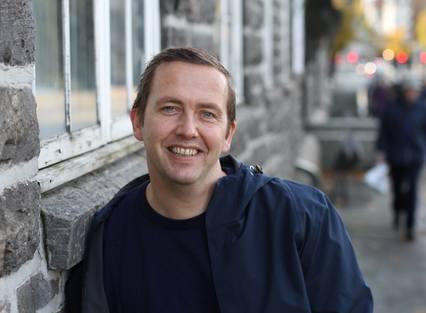 GRÛNDER: Kjell Sørestrand-Hansen har nå startet sitt Coastline Vision.