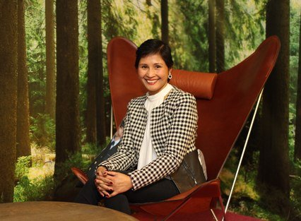 GRÜNDER: Glenda Anfinsen is the founder of Distinct Interiør AS.