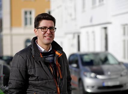ARKITEKT: Gründeren bak Arkontor, Paulo Areia, stortrives med jobben sin.